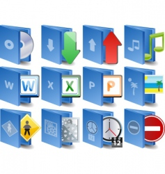 Computer icons document icon set vector