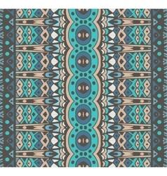 striped ornamental seamless pattern vector image