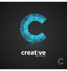 C logocreative logo design logo template vector