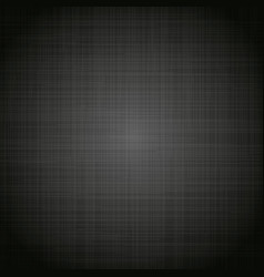 black cloth texture background vector image