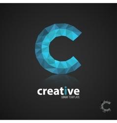 C logocreative logo design Logo Template vector image vector image