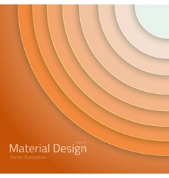 Material design abstract circles lines vector