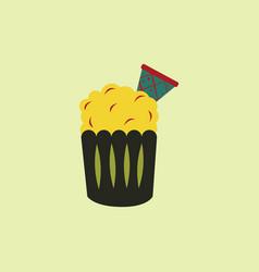 Party cupcakedessert vector