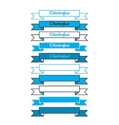 Oktoberfest simple banners vector