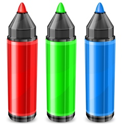 felt tip pen RGB vector image vector image