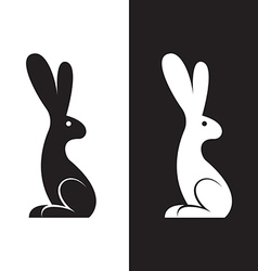 image of a rabbit design vector image vector image