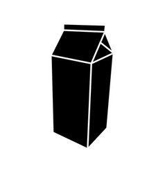 package for milk vector image