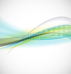 Abstract smooth light lines waves background vector