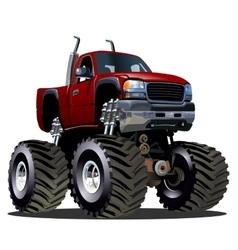 Cartoon Monster Truck vector image