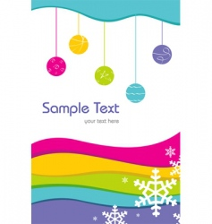 sample card vector image vector image