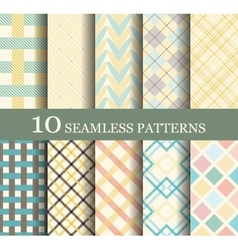 Seamless modern patterns vector