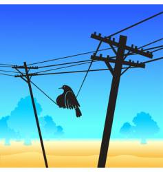 fat bird vector image vector image