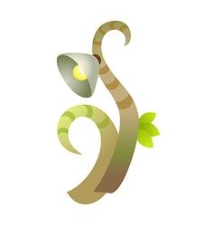 icon street light vector image vector image