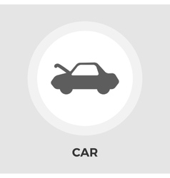 Car Flat Icon vector image