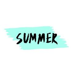 Summer poster design vector