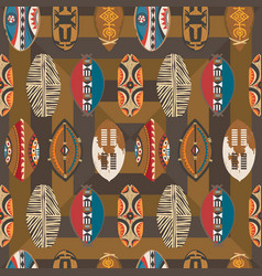 African-pattern-08 vector