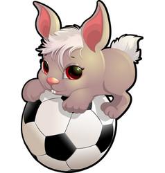 Beautiful cute rabbit vector