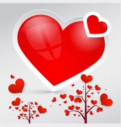 hearts heart symbols vector image