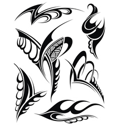 Tattoo design vector image vector image