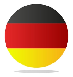 Flag of germany vector