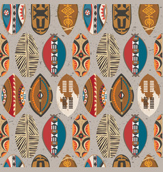 african-pattern-09 vector image vector image