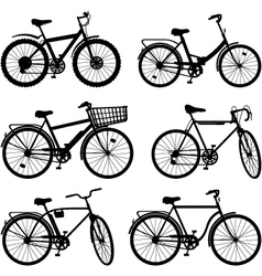 Bicycle Pictogram Set 2 vector image