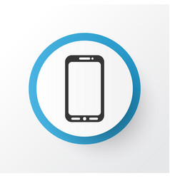 mobile phone icon symbol premium quality isolated vector image vector image