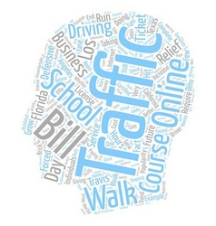 Walk in traffic schools a bleak future text vector
