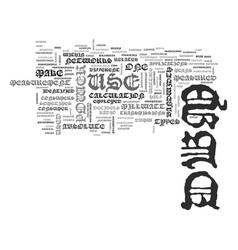 What is dbm text word cloud concept vector