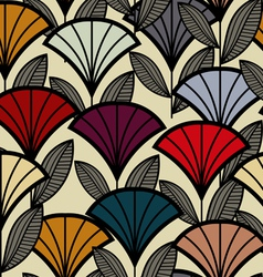 Seamless lotus vector image