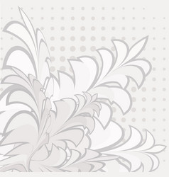 Background made up of flowers and plants herbs vector