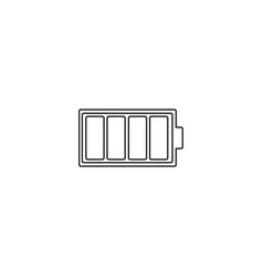 battery icon sign design vector image