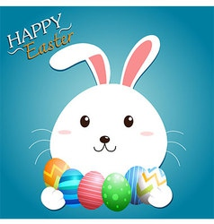 Bunny Easter vector image vector image