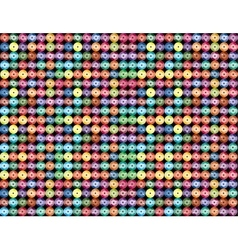 Multicolored sequin glitter Abstract background vector image