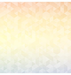 Abstract geometric background with triangles cover vector