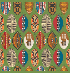 african-pattern-10 vector image vector image