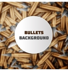 Bullets colorful background vector