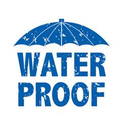 Water drop text vector