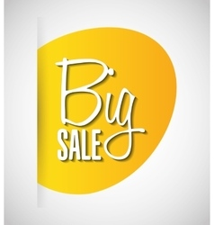 Big sale design vector