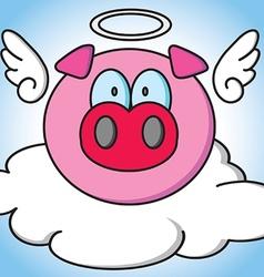 Pig Angle vector image