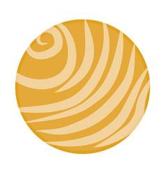 venus planet icon vector image vector image