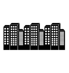 City urban icon vector