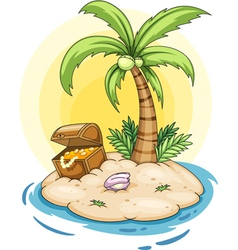 Treasure island vector