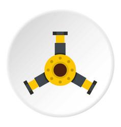 Bearing icon circle vector