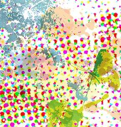 dot pattern grunge background vector image