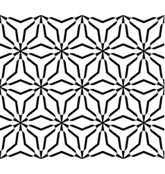 ornamental seamless pattern triangular lattice vector image