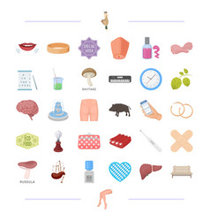 Recreation shopping salon and other web icon in vector