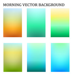 abstract colorful in the moring blur template vector image