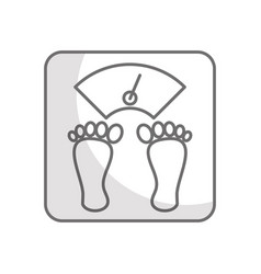 weight body balance vector image vector image