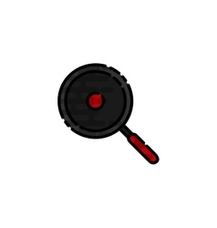 Cooking flat icon vector image vector image